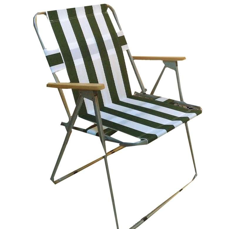 Çizgili Plaj Sandalyesi
