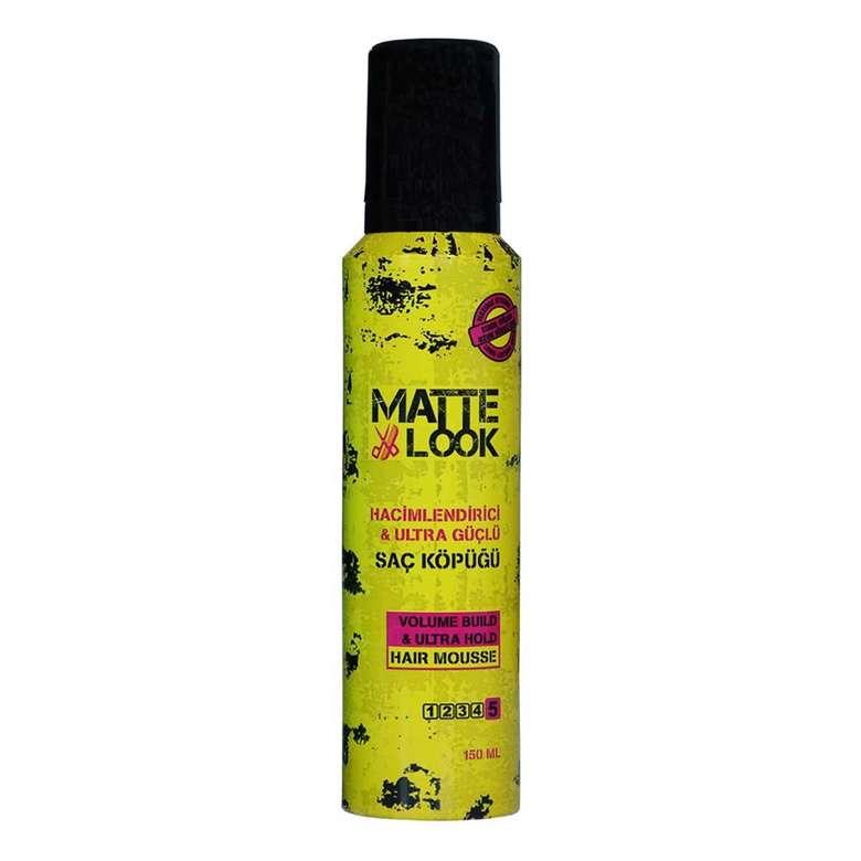 Matte Look Saç Köpüğü Ultra Hold 150 Ml