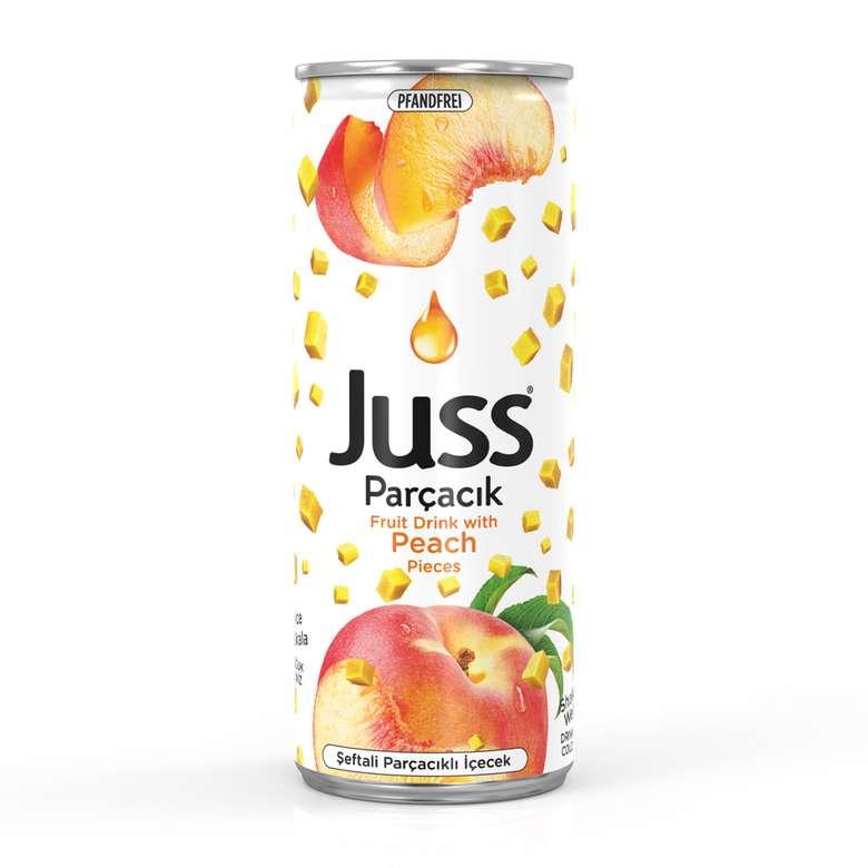 Juss Meyveli İçecek Şeftali Parçacıklı 250 Ml