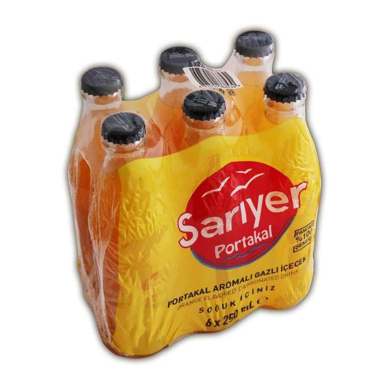 Sarıyer Gazlı İçecek Gazoz Portakal 1500 Ml