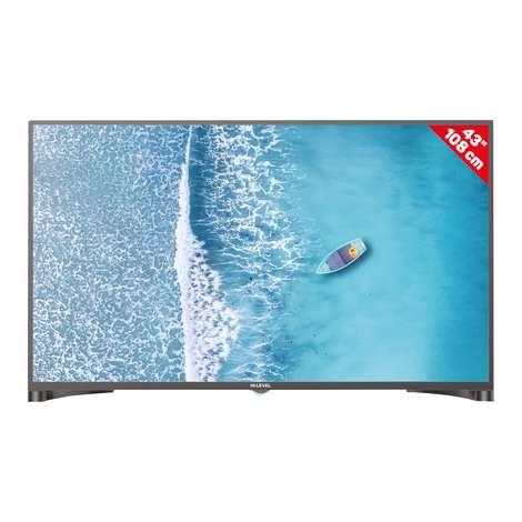 "Hi Level 43"" HL43DLK010 Full Hd Dual Led Tv"
