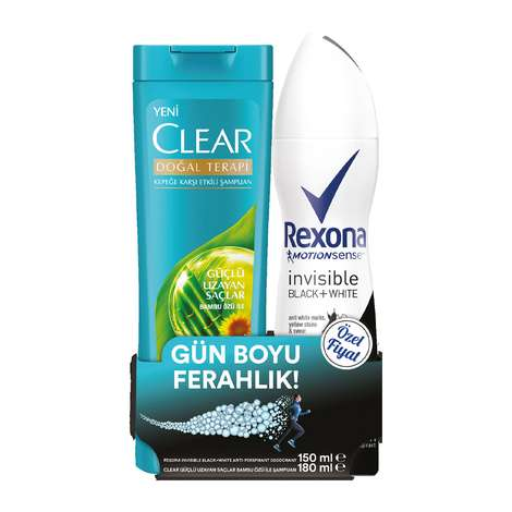 Rexona Deodorant 150 Ml+şampuan Chıa Clear 180 Ml