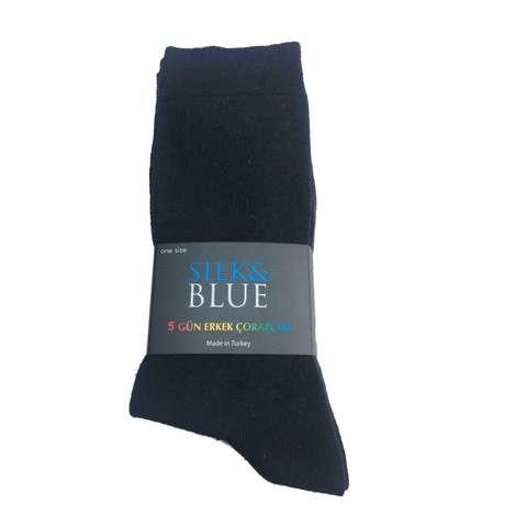 Silk&Blue Erkek Soket Çorap 5'li