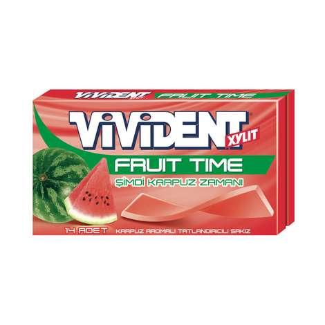Vivident Fruit Sakız Karpuz Aromalı 27 G