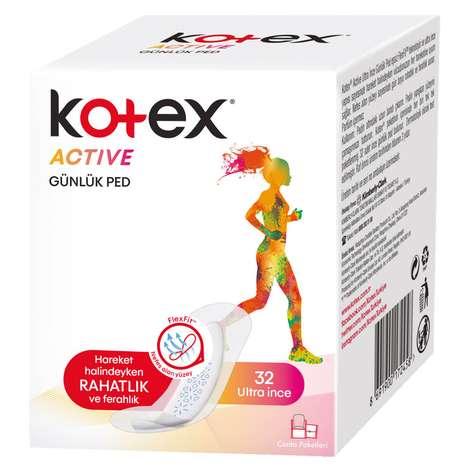 Kotex Active Hijyenik Ped Günlük 32'li