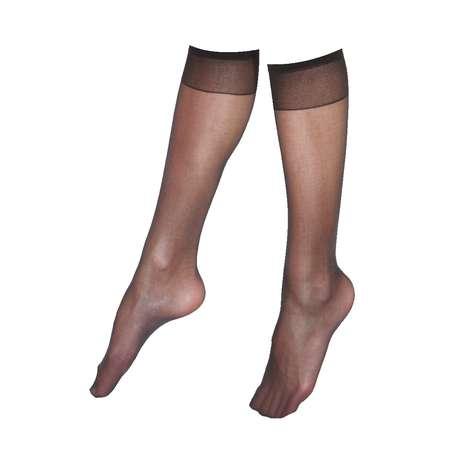 Penti Bayan Dizaltı Pantolon Çorabı 2'li  Siyah