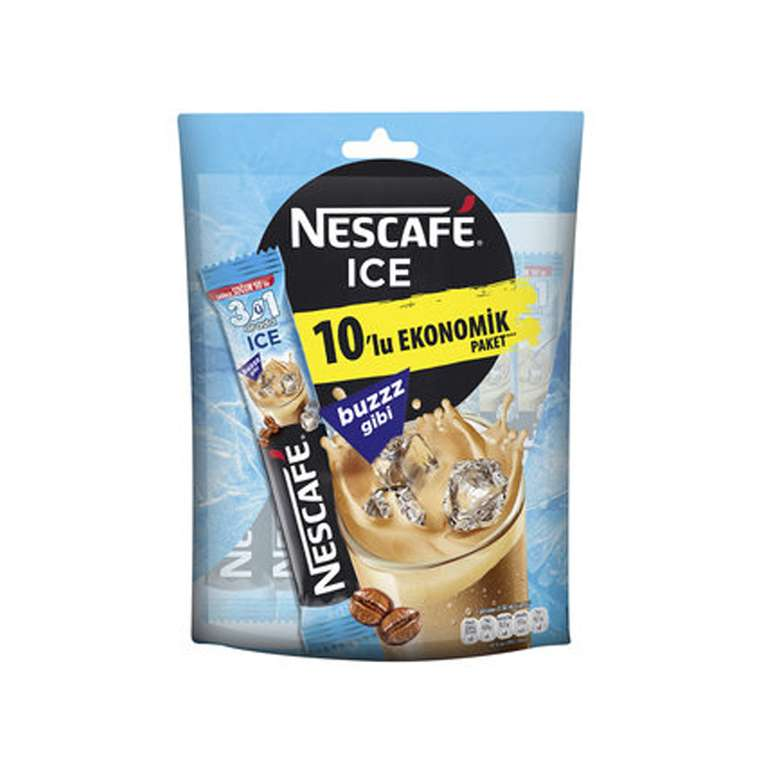 Nescafe 3'ü 1 Arada Ice 10'lu