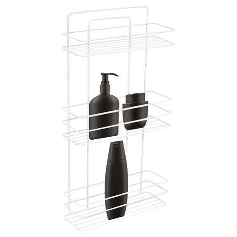 Üçlü Tel Şampuanlık Banyo Ürünleri 3 Kat