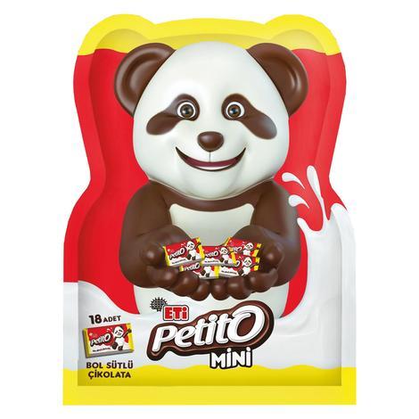 Eti Petito Çikolata Sütlü Ayıcık Figürlü 72 G