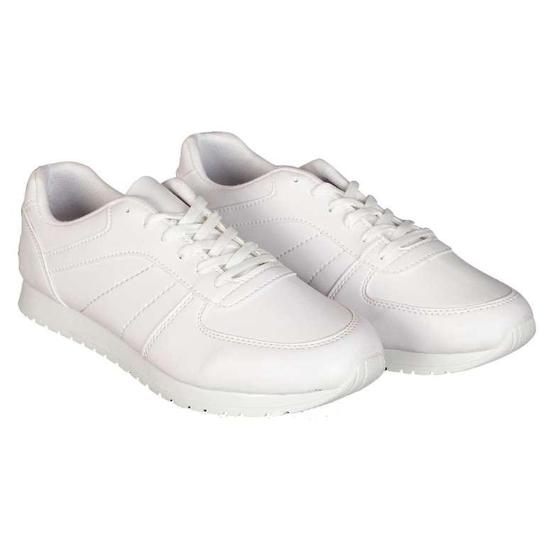 Bay Beyaz Yürüyüş Ayakkabısı - 44
