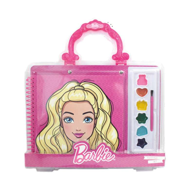 Barbie Lisansli Boyama Seti A101