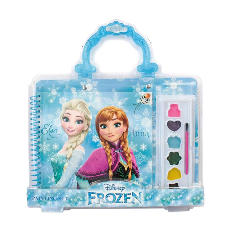 Frozen Lisansli Boyama Seti A101