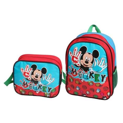 Lisanslı Beslenmeli İlkokul Çantası Wide Mickey Mouse
