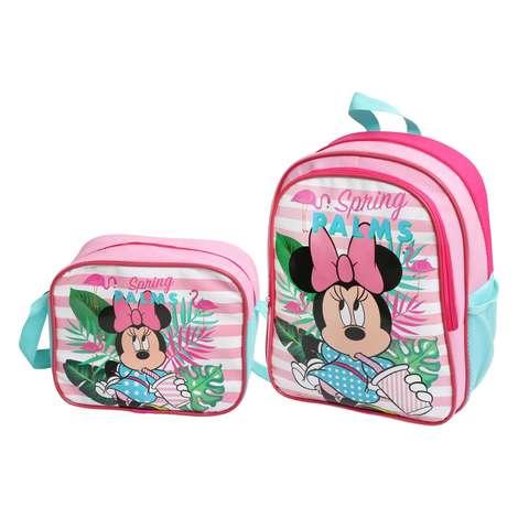 Lisanslı Minnie Mouse Beslenmeli İlkokul Çantası Wide