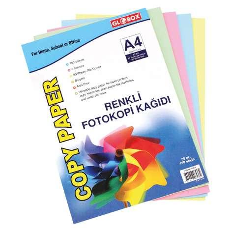 Renkli Fotokopi KağıdıGlobox