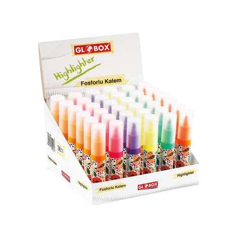 Globox Baskılı Fosforlu Kalem