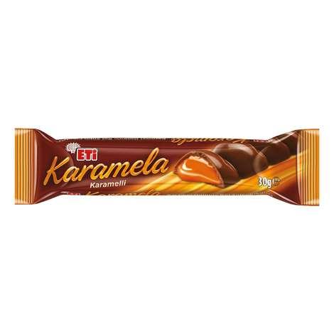 Eti Çikolata Karamel Dolgulu 30 G