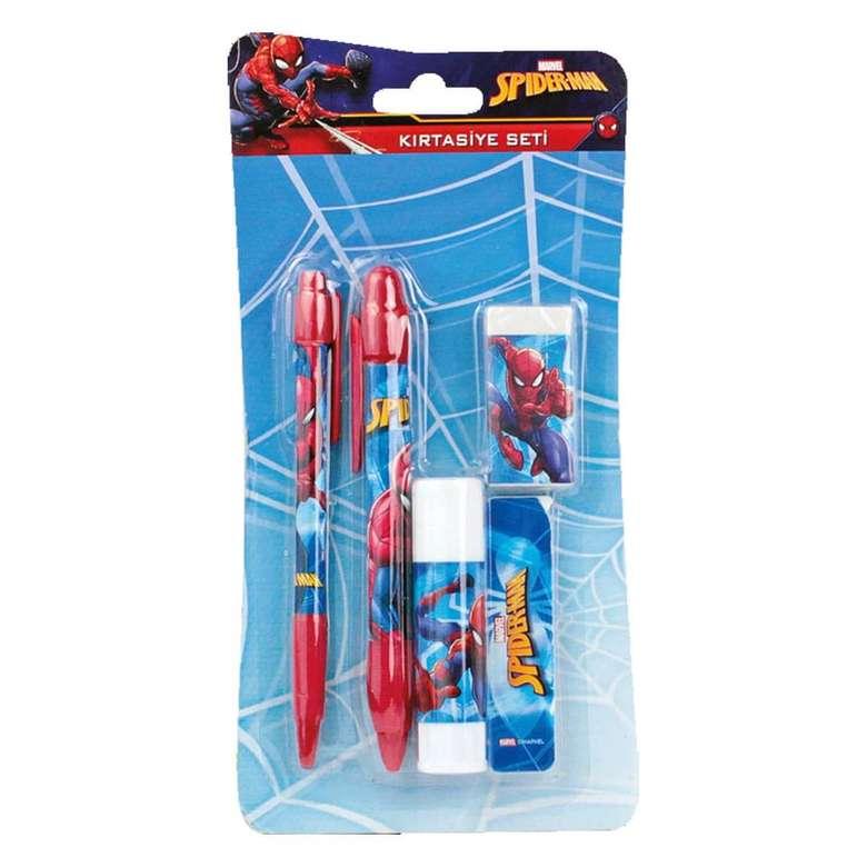 Spiderman Lisanslı Kırtasiye Seti