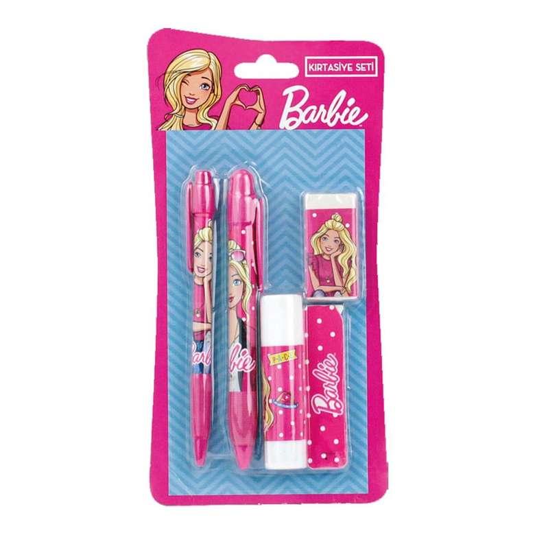 Barbie Lisanslı Kırtasiye Seti