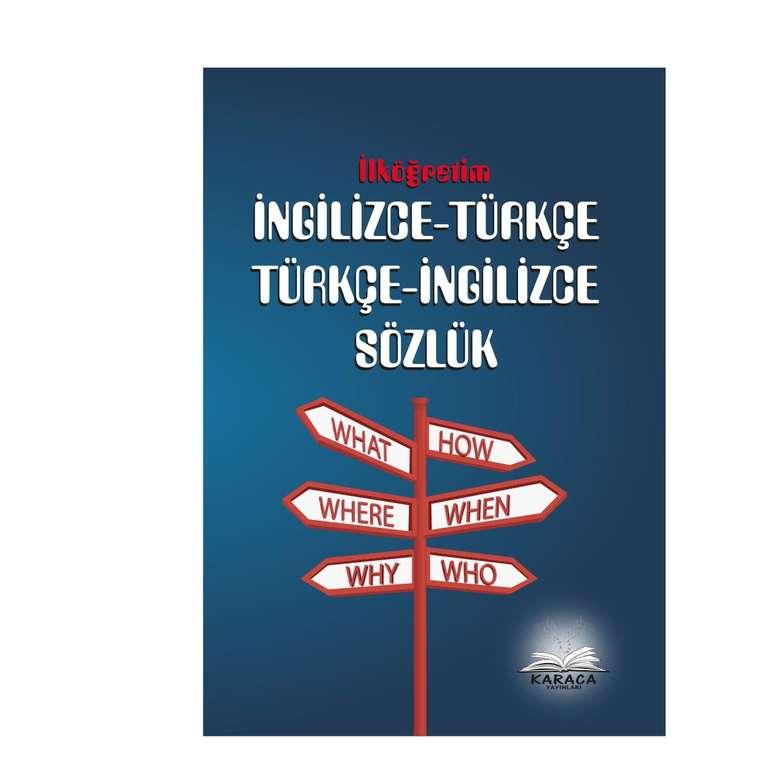 İngilizce  Türkçe Sözlük