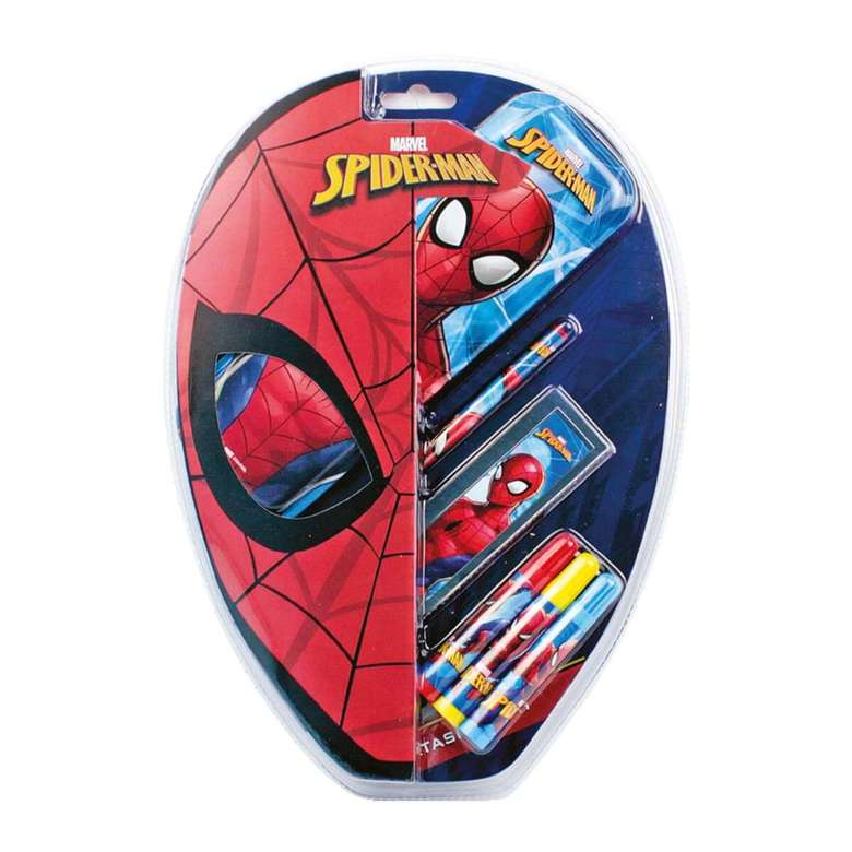Spiderman Lisanslı Blisterli Kırtasiye Seti
