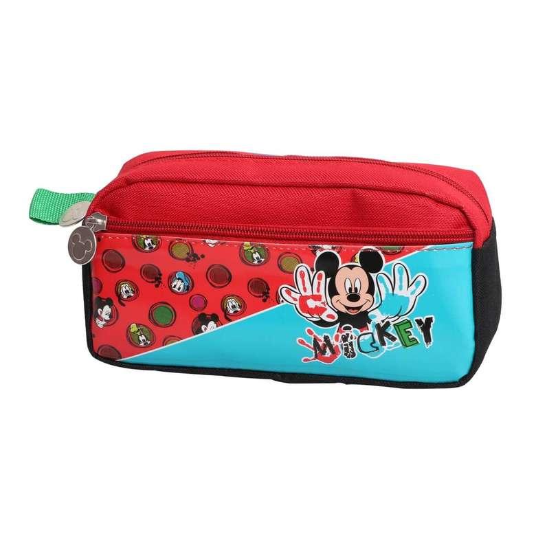 Lisanslı Çift Gözlü Kalem Çantası Bawıt Mickey Mouse