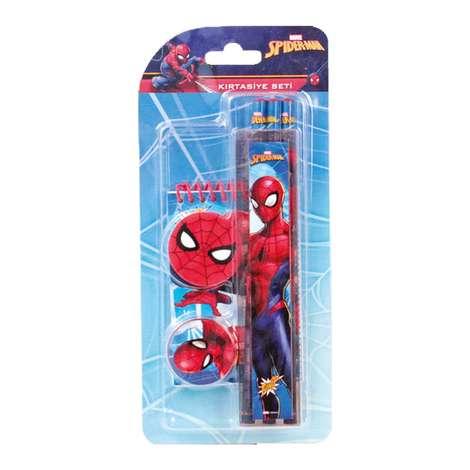 Spiderman Lisanslı Defterli Kırtasiye Seti