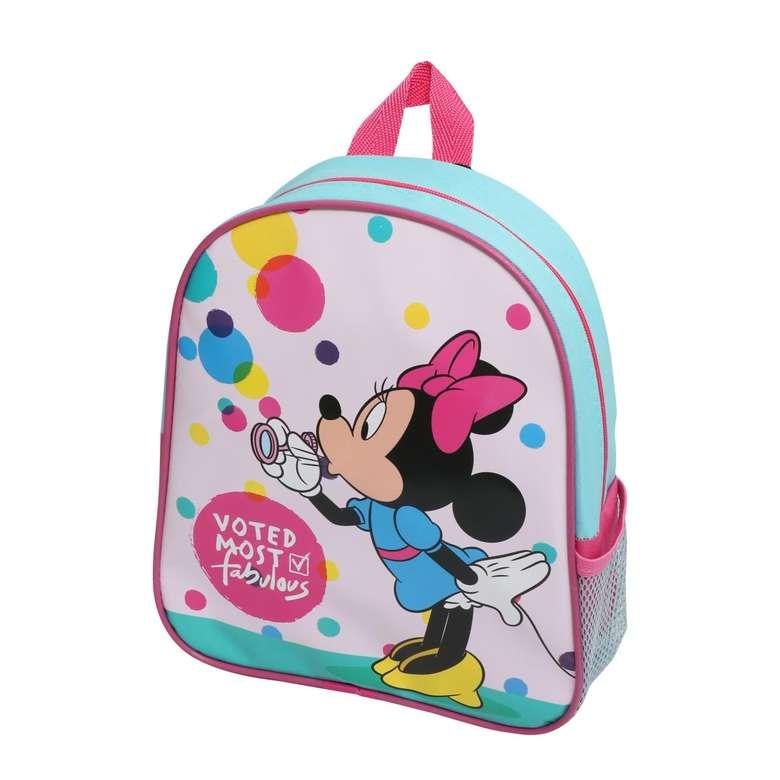 Anaokulu Çantası Pug Minnie Mouse Bubbles