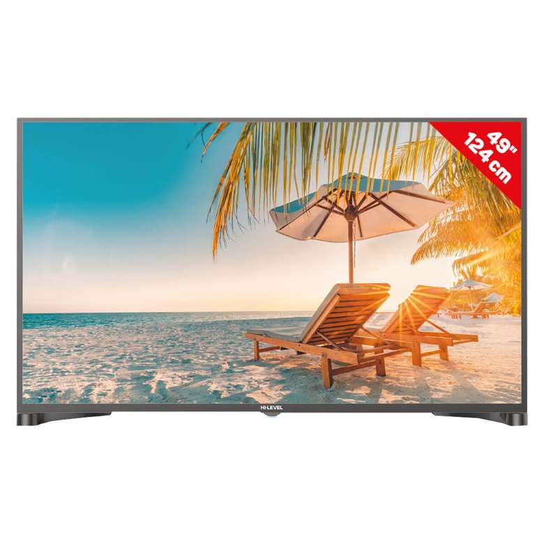 "Hi Level HL49DLK08 49"" FHD Dual Led Tv"
