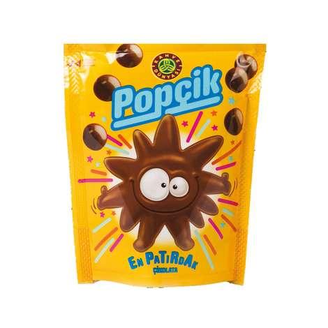 Popçik Draje Çikolata Patlayan Şekerli 40 G
