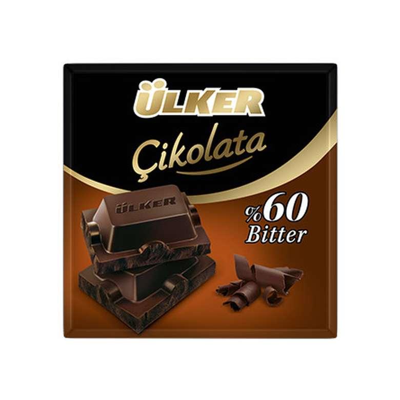 Ülker Çikolata %60 Bitter 70 G