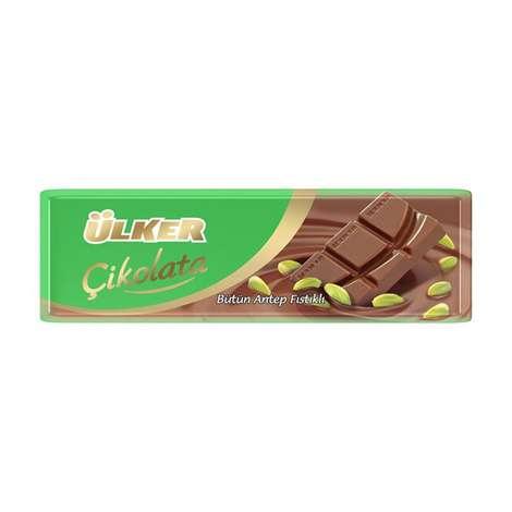 Ülker Çikolata Antep Fıstıklı Baton 32 G