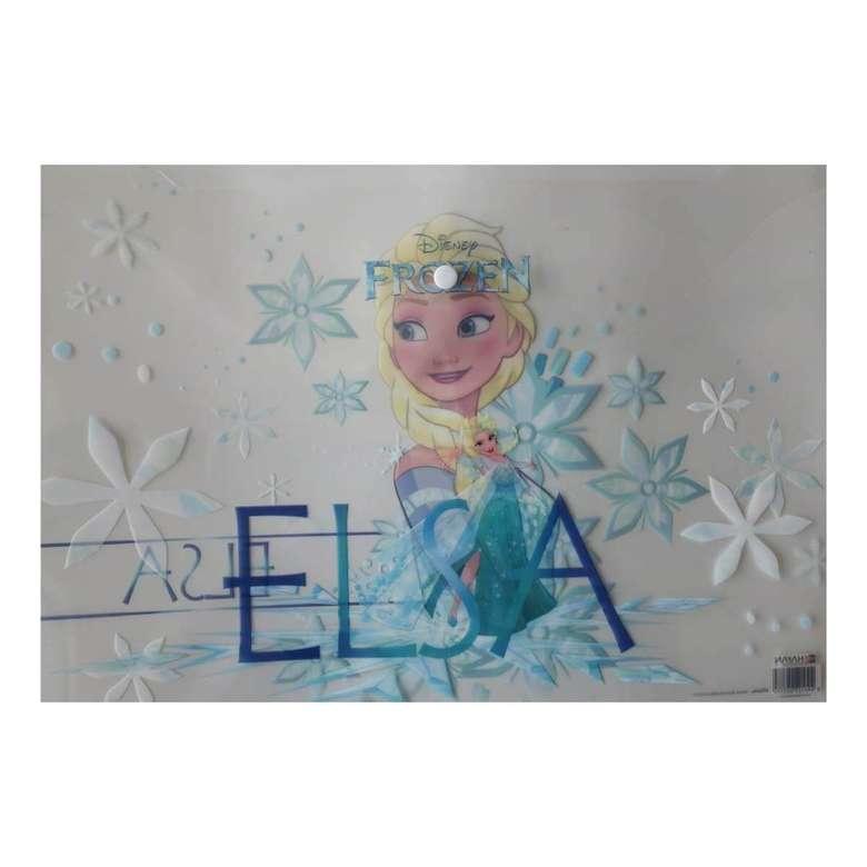 Lisanslı Frozen Çıtçıt Dosya - Mavi