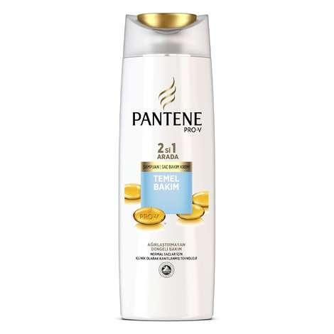 Pantene 2si 1 arada Temel Bakım Şampuan 500 ml