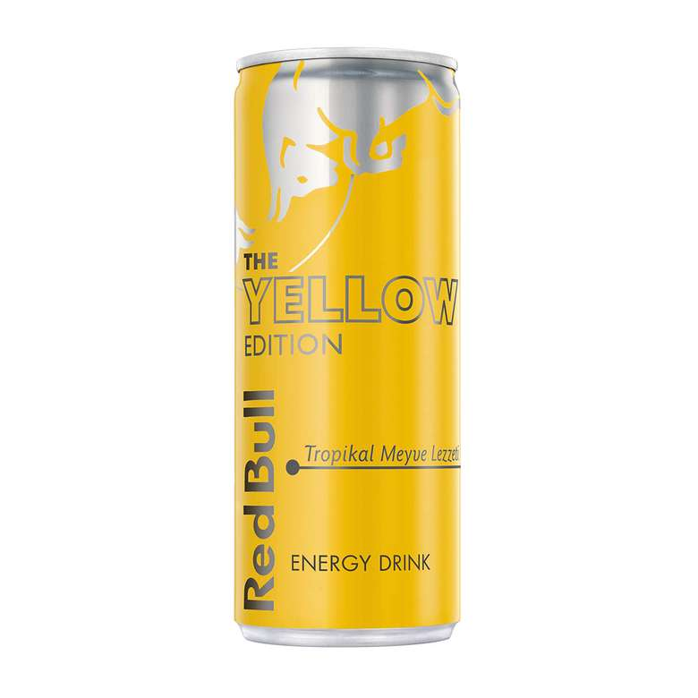 Red Bull  Enerji İçeceği Yellow Edition 250 Ml