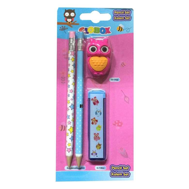 Kalem Set (Kalem+Silgi+Kalemtraş)