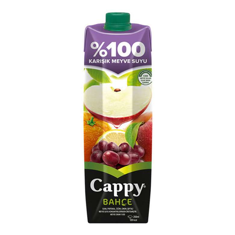 Cappy Meyve Suyu %100 Karışık 1 Litre