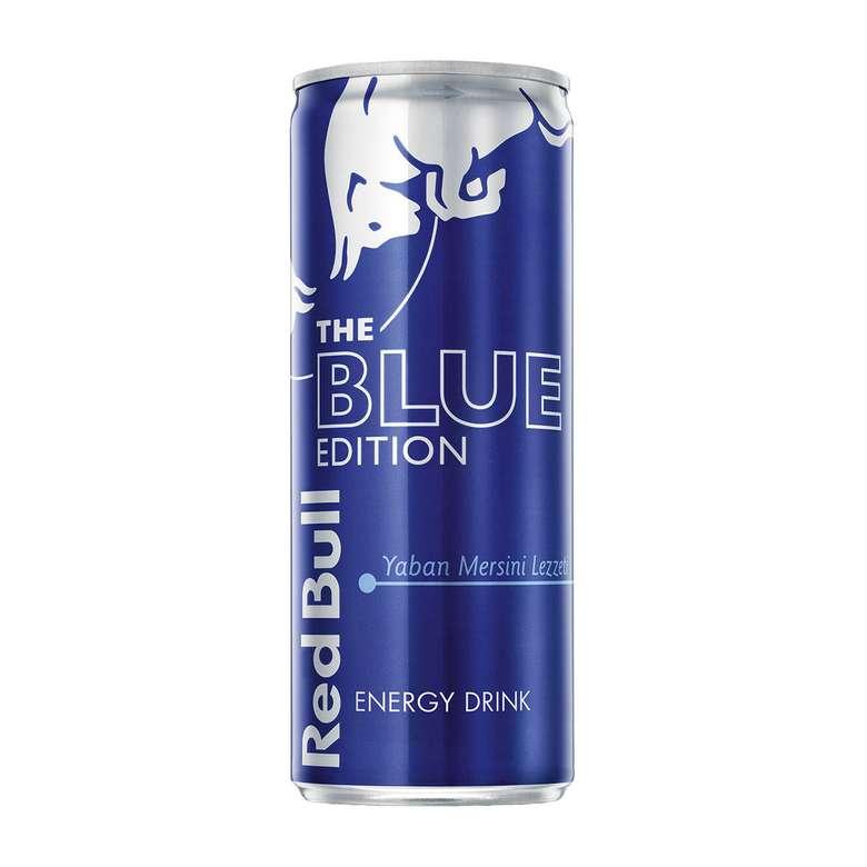 Red Bull Enerji İçeceği Blue Edition 250 Ml