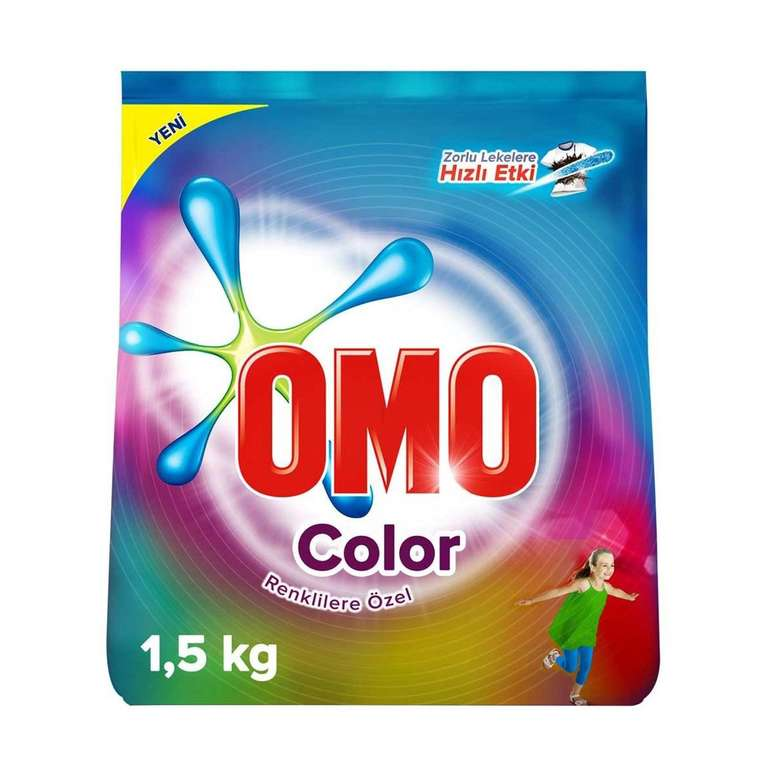 Toz Det. 1,5 Kg Omo Color