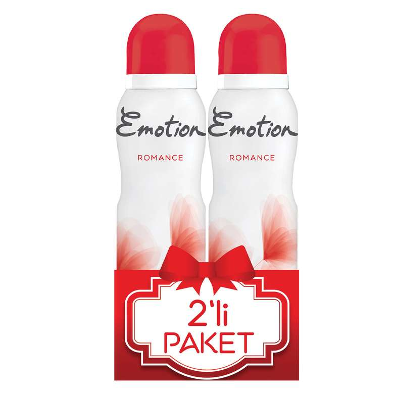 Emotion Deodorant Romance 2x150 ml