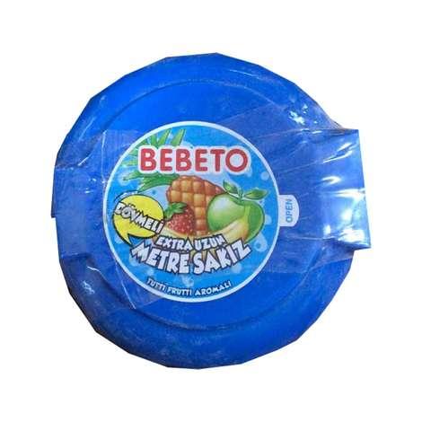 Bebeto Tutti Frutti Aromalı Sakız Metre 36 G