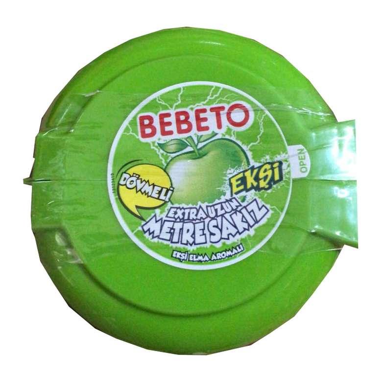 Bebeto Ekşi Elma Aromalı Sakız Metre 36 G