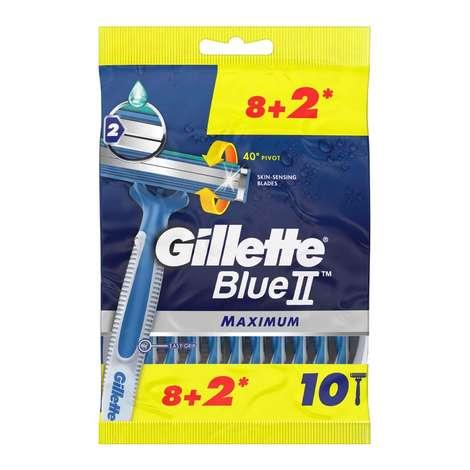 Gillette Blue 2 Max 8+2 Traş Bıçağı