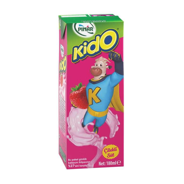 Pınar Kido Süt Çilekli 180 Ml