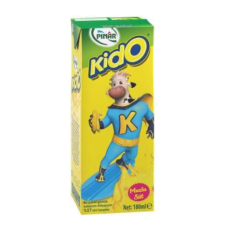 Pınar Kido Süt Muzlu 180 Ml