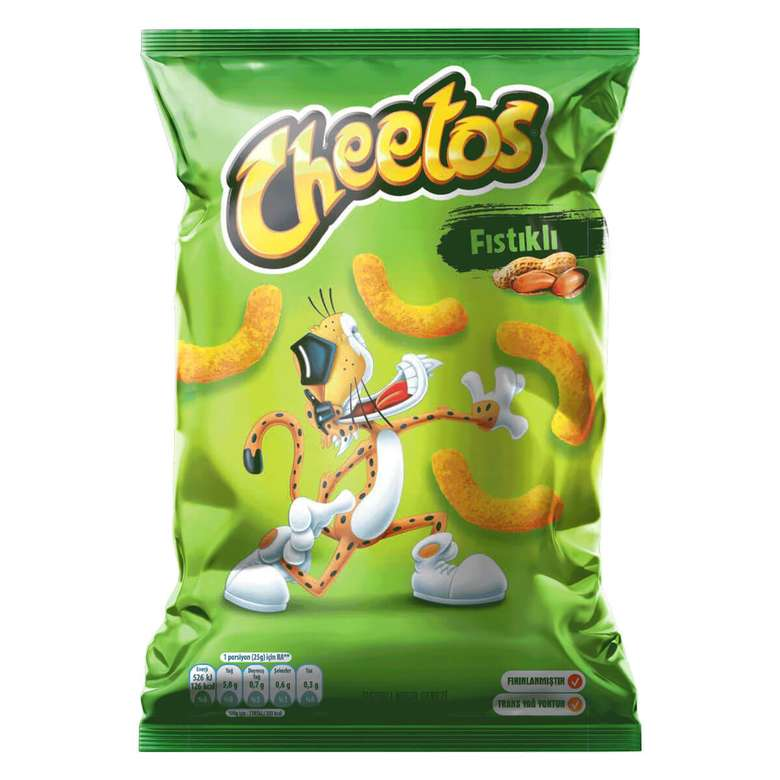 Cheetos Fıstıklı Mısır Çerezi