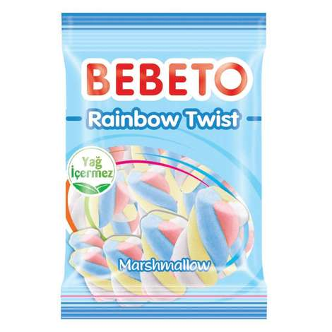 Bebeto Mars Rainbow Twist Yum. Şeker 70 G