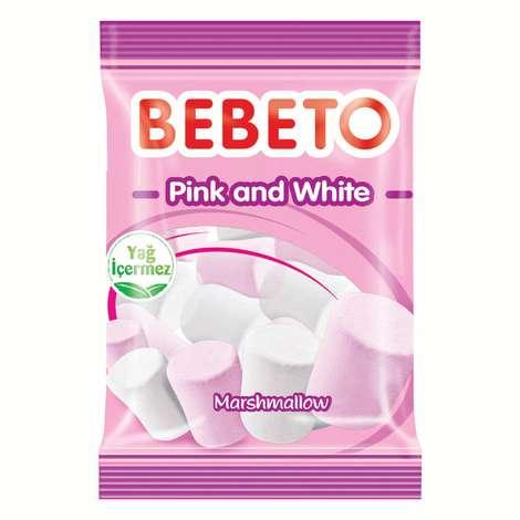 Bebeto Mars Pink And White Yum. Şeker 70 G