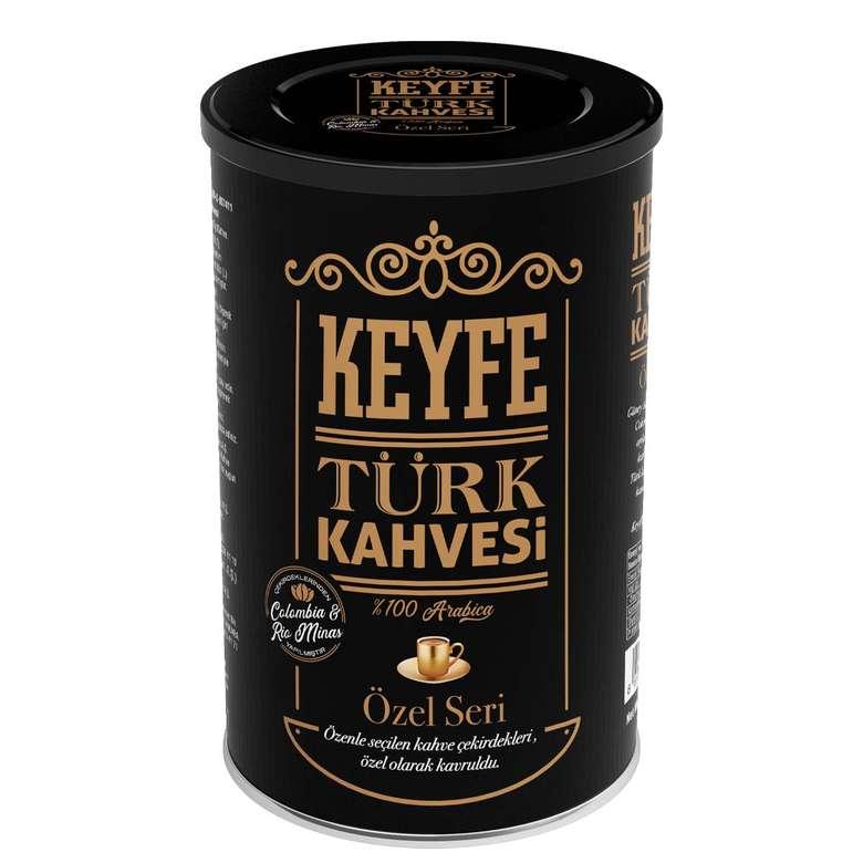 Keyfe Premium Teneke Türk Kahvesi 250 G