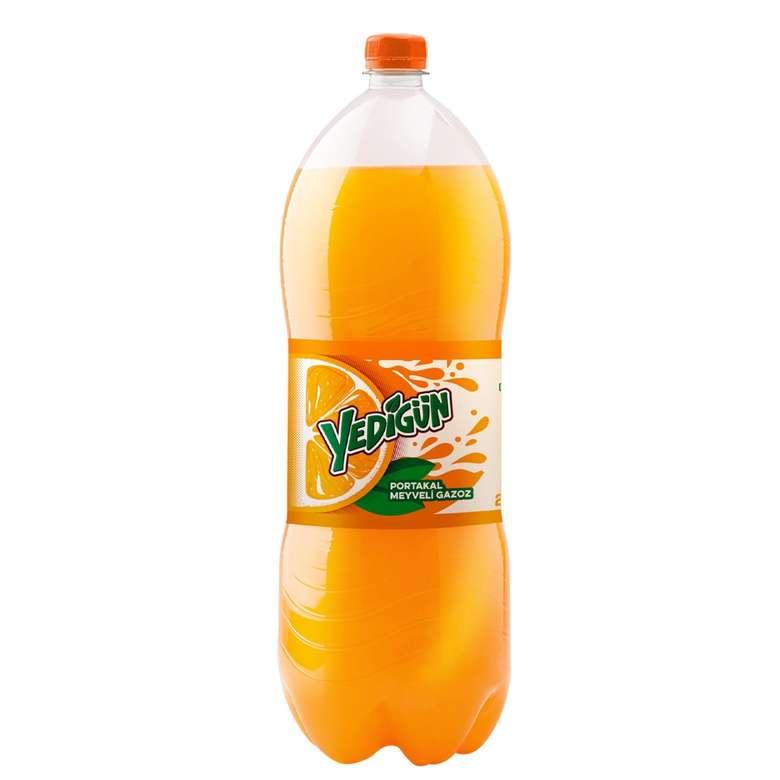 Yedigün Gazlı İçecek Portakal 2.5 L